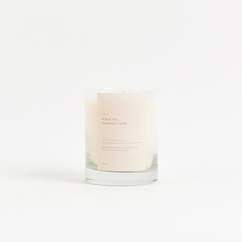 WINTER Seasonals Candle 2.0
