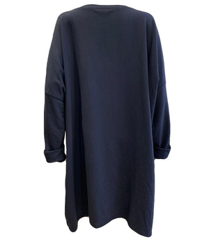 Load image into Gallery viewer, Sweatshirt Tunic With Zips -  Luna Boutiques