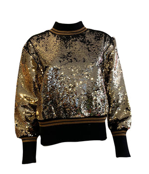 Load image into Gallery viewer, Sequin Sweater -  Luna Boutiques