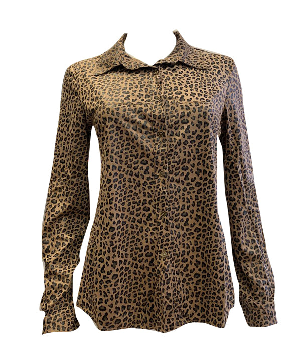 Load image into Gallery viewer, Leopard Print Shirt -  Luna Boutiques