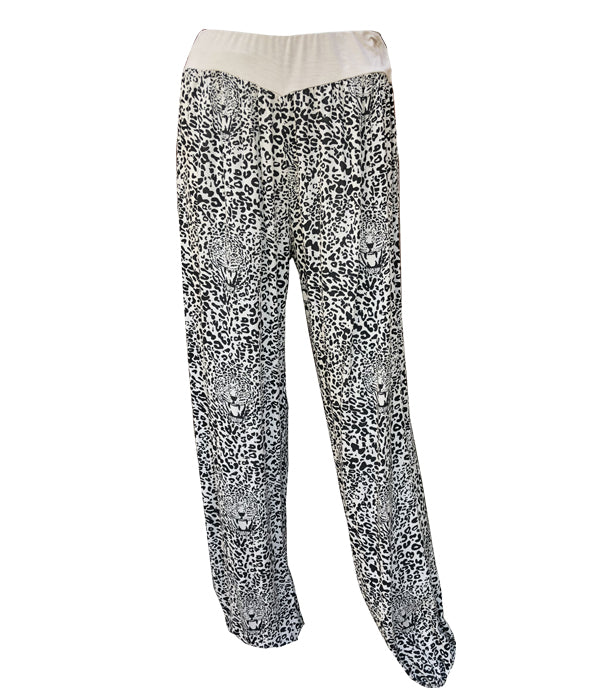 Load image into Gallery viewer, Leopard Print Harem Trousers -  Luna Boutiques