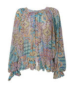 Long Sleeve Gypsy Top -  Luna Boutiques
