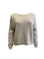 Ribbed Design Cropped Jumper -  Luna Boutiques