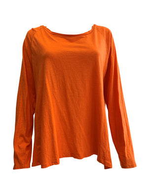 Long Sleeve Cotton Top -  Luna Boutiques