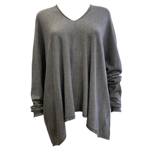 V-Neck Loose Fit Jumper -  Luna Boutiques