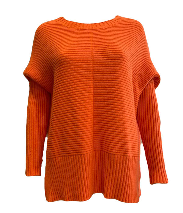 Load image into Gallery viewer, Ribbed Batwing Sleeve Jumper -  Luna Boutiques