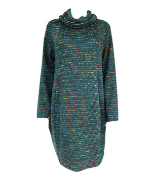Load image into Gallery viewer, Cowl Neck Fleck Tunic -  Luna Boutiques
