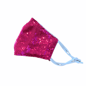 Sequin Face Mask - Party -  Luna Boutiques