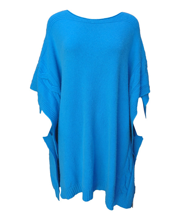 Load image into Gallery viewer, Miss Sugar Poncho Jumper -  Luna Boutiques