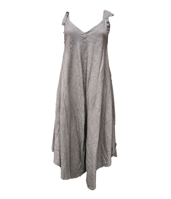 Load image into Gallery viewer, Linen Romper Suit -  Luna Boutiques