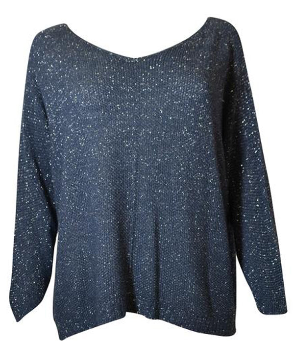 Load image into Gallery viewer, Glitter Knit Top -  Luna Boutiques
