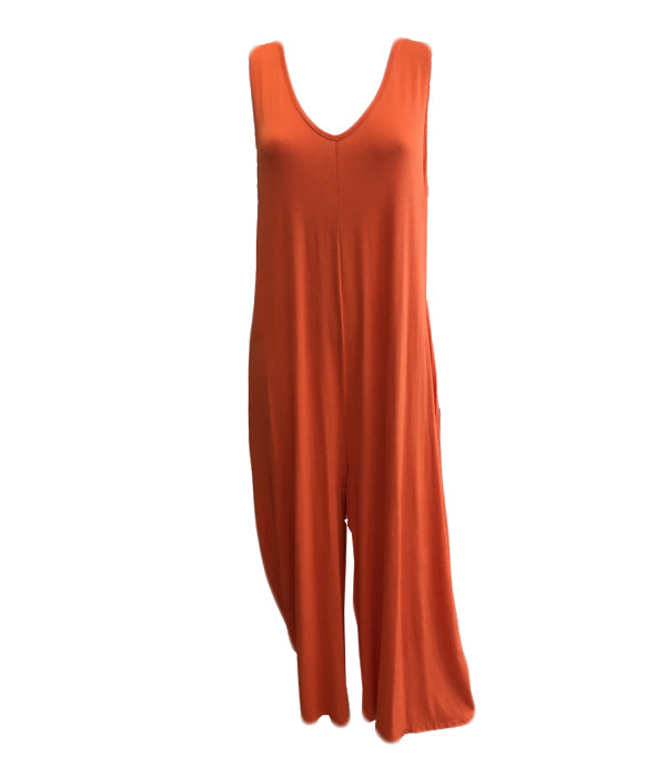 Load image into Gallery viewer, Jersey Jumpsuit -  Luna Boutiques