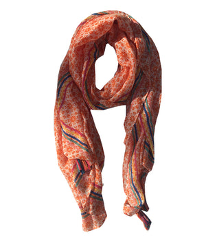Load image into Gallery viewer, Flower Print Scarf -  Luna Boutiques