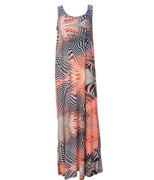 Load image into Gallery viewer, Be Fun Maxi Dress -  Luna Boutiques