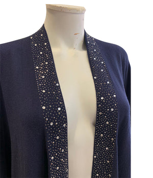 Load image into Gallery viewer, Sparkle Cape Cardigan -  Luna Boutiques
