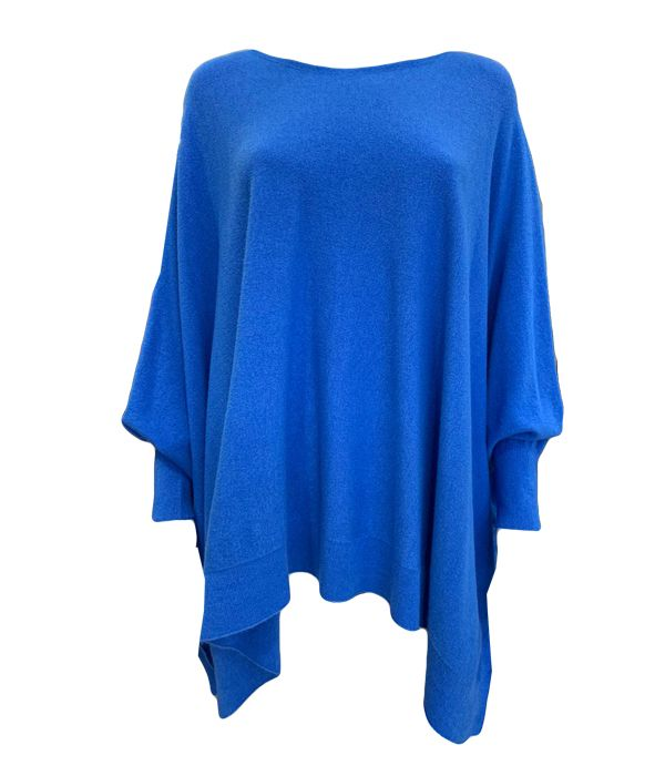 Italian Lightweight Knit With Fitted Sleeves -  Luna Boutiques