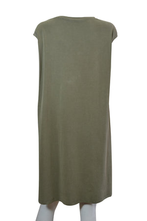 Load image into Gallery viewer, Cap Sleeve V Neck Tunic -  Luna Boutiques
