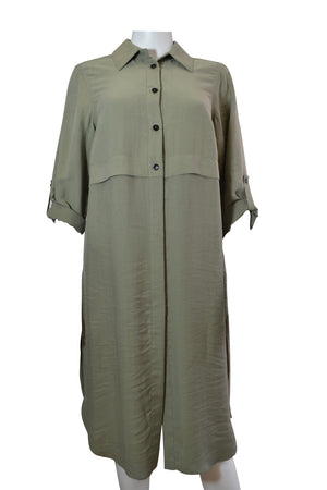 Load image into Gallery viewer, Plain Shirt Collar Tunic -  Luna Boutiques