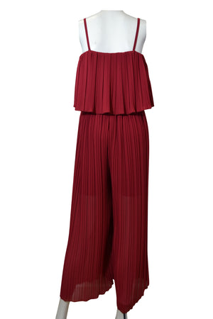 Load image into Gallery viewer, Pleat Layer Top Jumpsuit -  Luna Boutiques