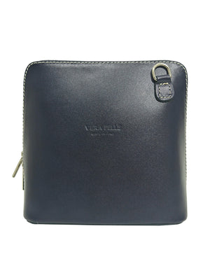 Load image into Gallery viewer, Vera Pelle Leather Over Shoulder Bag -  Luna Boutiques