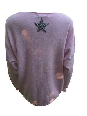Load image into Gallery viewer, Miss Sugar Soft Knit Star Jumper -  Luna Boutiques