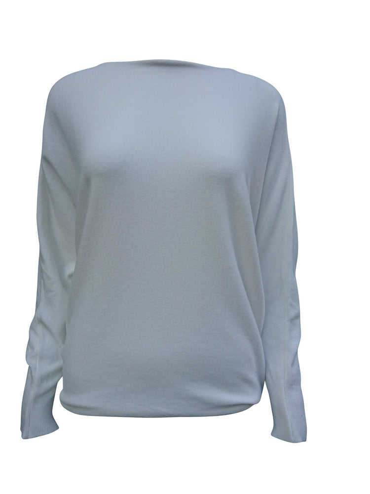 Pearl Button Back Jumper -  Luna Boutiques