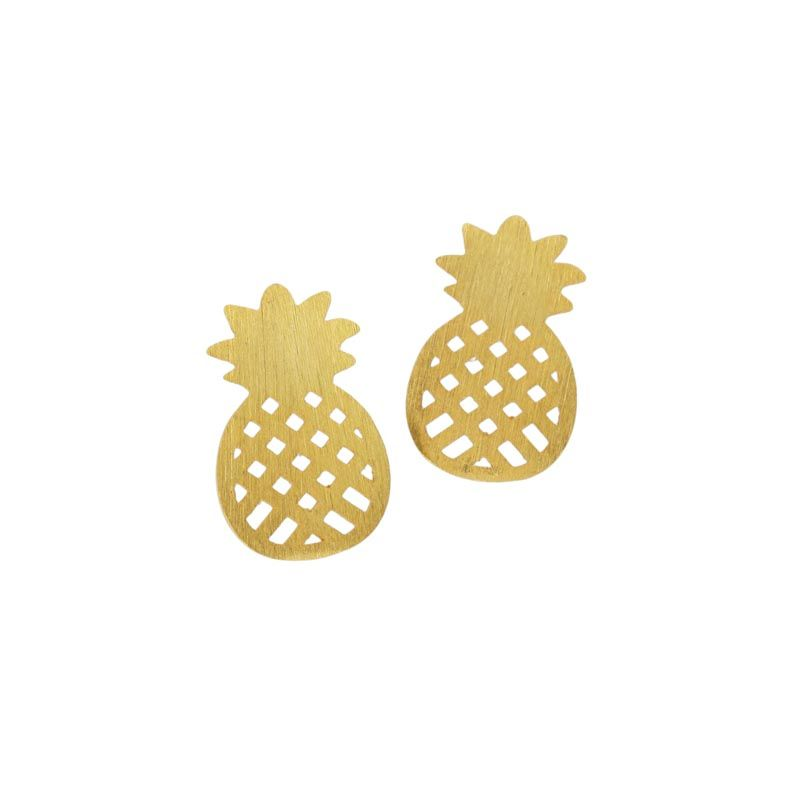 Load image into Gallery viewer, Pineapple Earrings -  Luna Boutiques