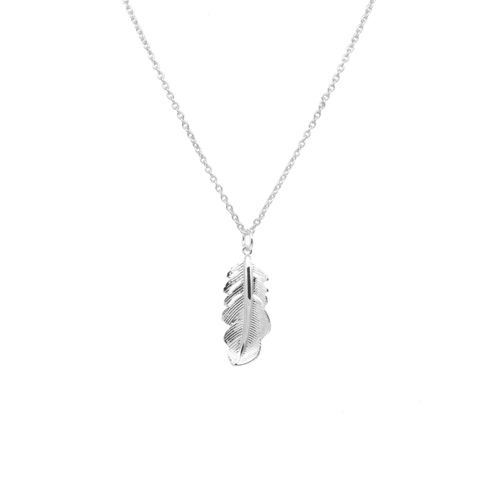 Feather Necklace -  Luna Boutiques