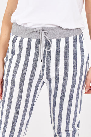 Load image into Gallery viewer, Stripe Trousers -  Luna Boutiques