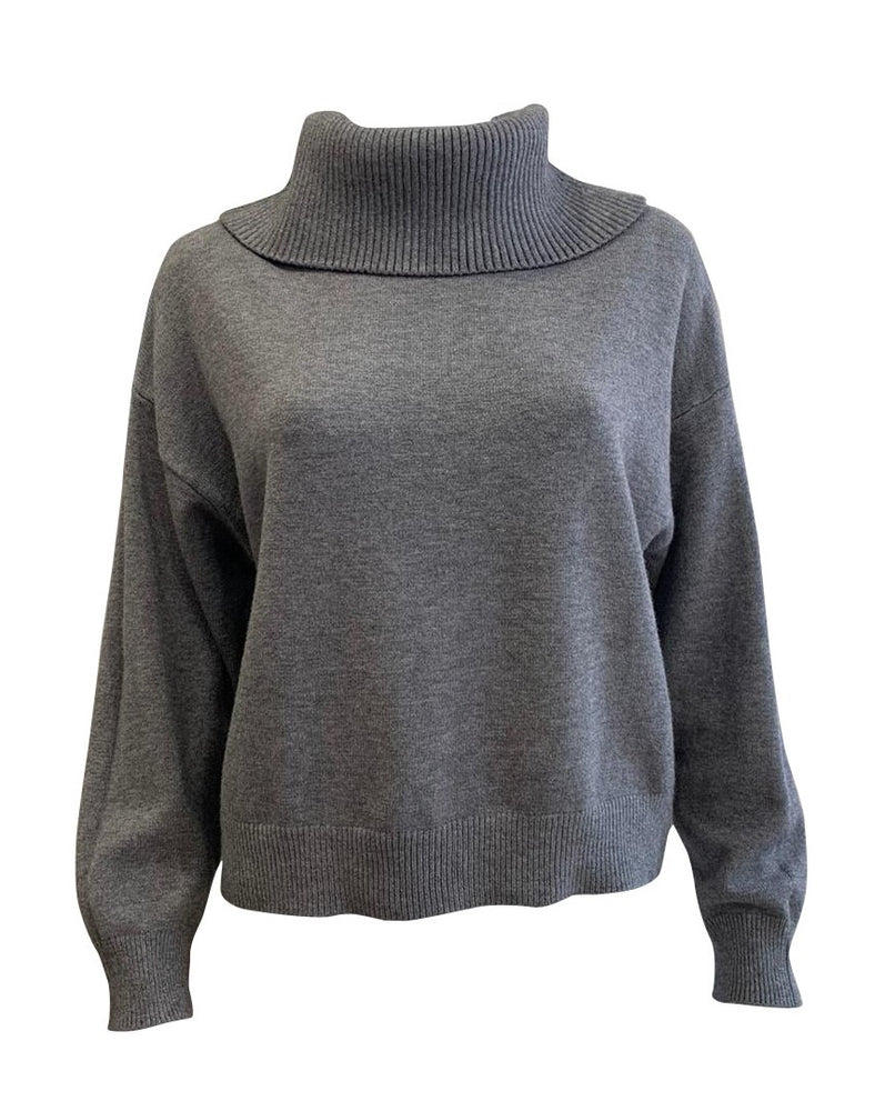 Load image into Gallery viewer, Roll Neck Jumper -  Luna Boutiques
