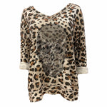 Animal Embellished Skull Top -  Luna Boutiques