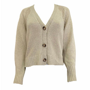 Load image into Gallery viewer, Cotton Knit Cardigan -  Luna Boutiques