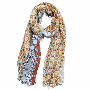 Load image into Gallery viewer, Gorgeous Floral Scarf -  Luna Boutiques