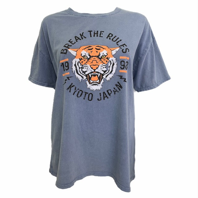 Load image into Gallery viewer, Break The Rules Tiger T-Shirt -  Luna Boutiques