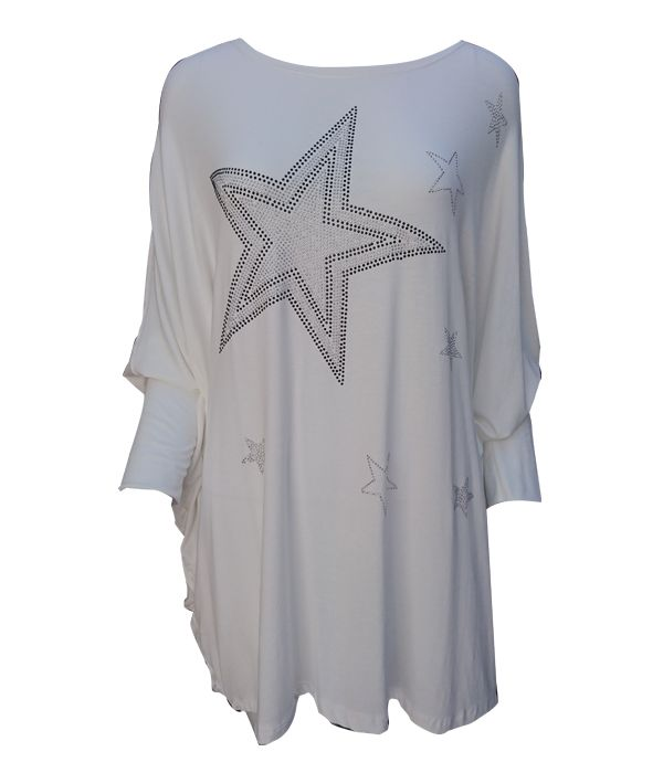 Multi Star Studded Top -  Luna Boutiques