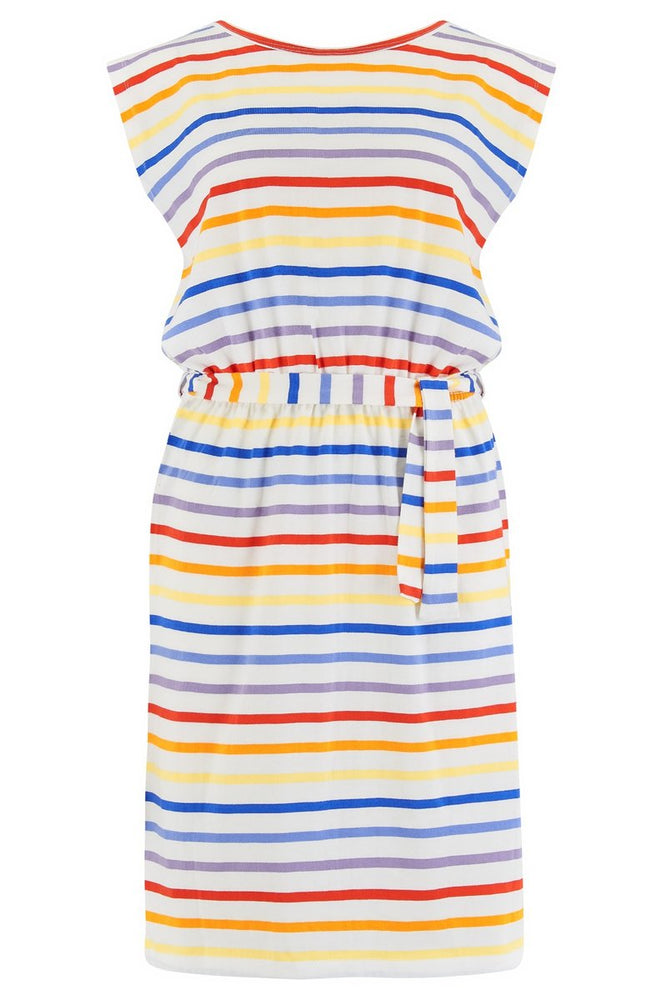 Load image into Gallery viewer, Hetty Sunset Stripe Dress -  Luna Boutiques
