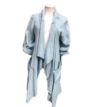 Load image into Gallery viewer, Loose linen jacket -  Luna Boutiques