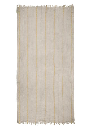 Load image into Gallery viewer, Gold & Silver Lurex Stripe Scarf -  Luna Boutiques