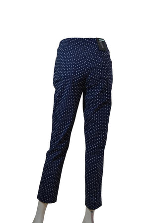 Load image into Gallery viewer, Bella 09 Ankle Slim Fit Square Print -  Luna Boutiques