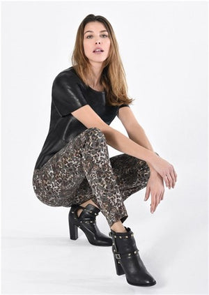Load image into Gallery viewer, Camouflage Trousers Rose Robell -  Luna Boutiques
