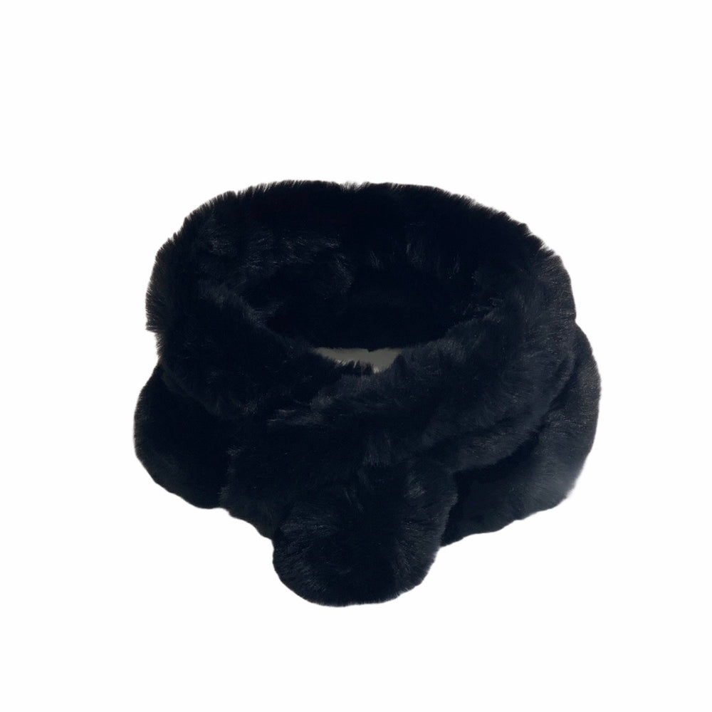 Load image into Gallery viewer, Faux Fur Pom Pom Snood -  Luna Boutiques