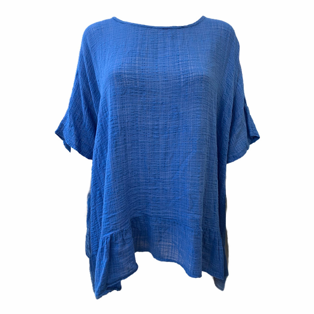 Lightweight Cheesecloth Top -  Luna Boutiques