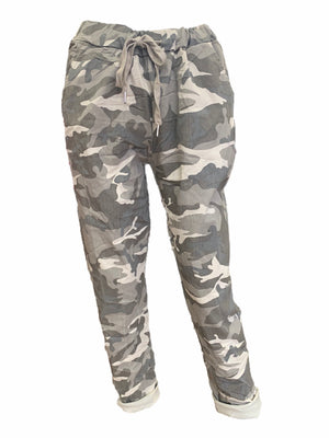 Camouflage Magic Trousers -  Luna Boutiques