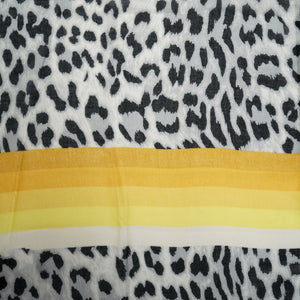 Load image into Gallery viewer, Leopard Rainbow Scarf -  Luna Boutiques