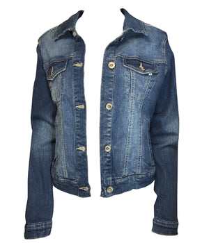 Load image into Gallery viewer, Lisa Denim Jacket -  Luna Boutiques