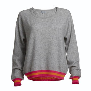 Philly Grey Cashmere Jumper -  Luna Boutiques