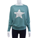 Star batwing jumpers -  Luna Boutiques