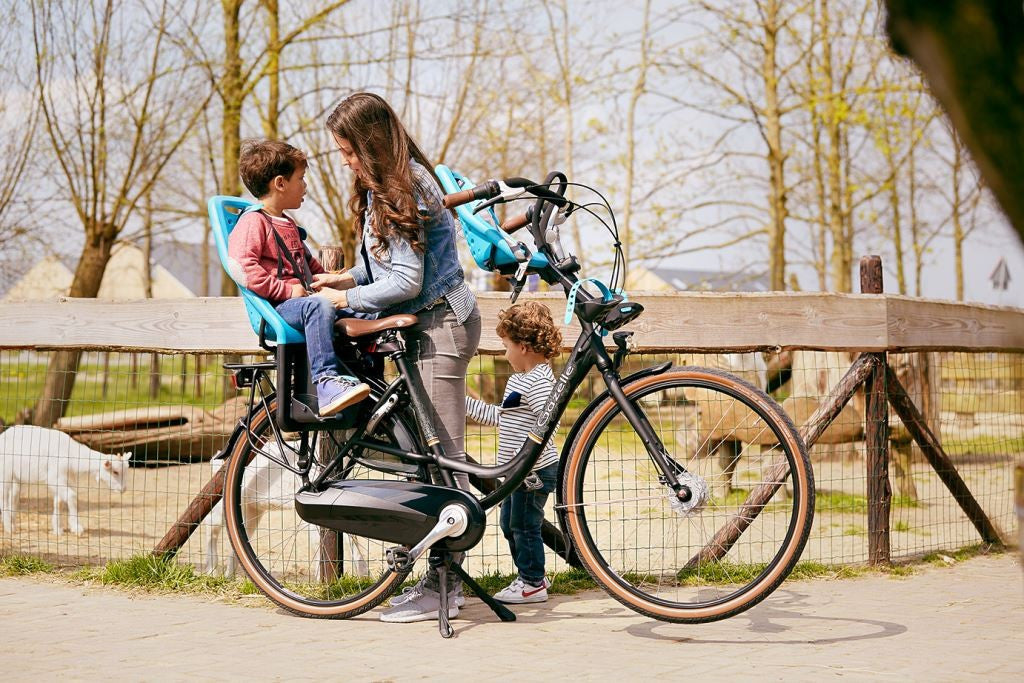 gazelle bloom cycling with kids