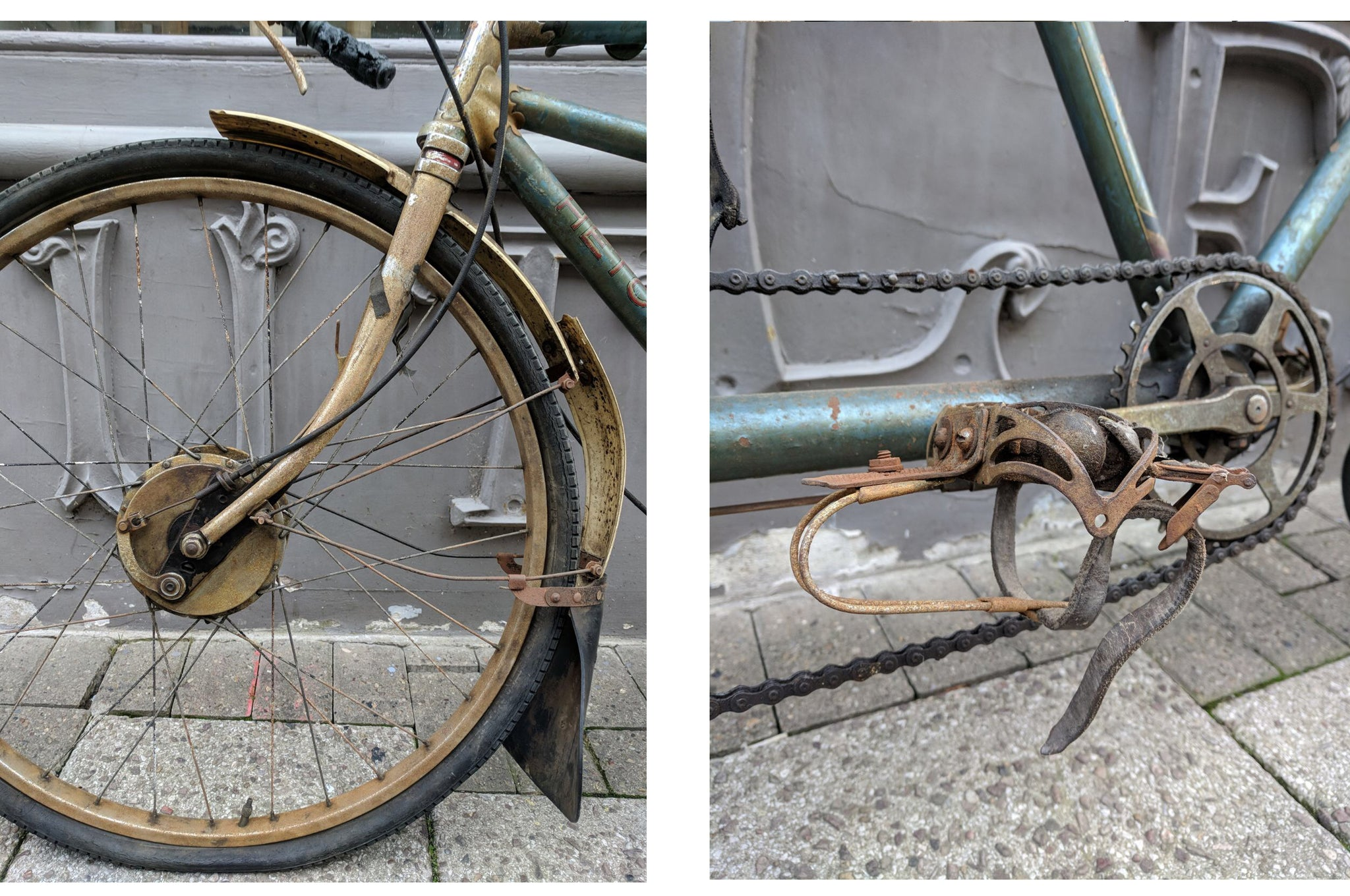 Hetchins vintage tricycle restoration