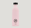 24 Bottles Urban stainless steel. Pink